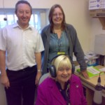 Gary & Helen with MP Ann Clwyd
