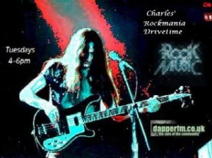 Rockmania with Charles Loft Tuesdays 4-6pm
